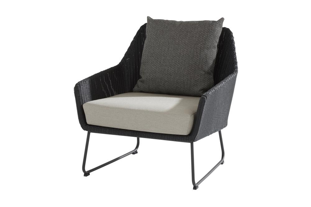 Gartenstuhl 4Seasons «Avila» Lounge-Sessel Geflechtsessel inkl. Kissen |  vom Garten-Fachhändler