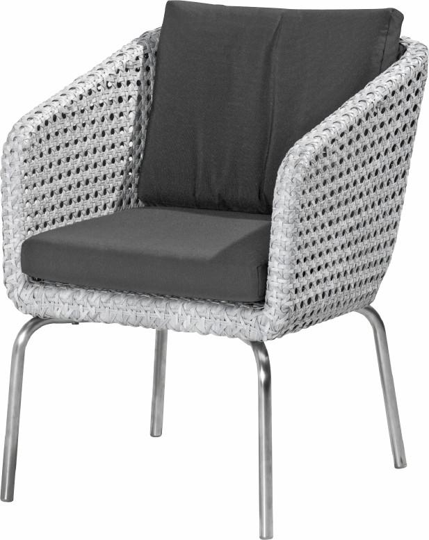 Luxus Polyrattan Geflecht Gartenstuhl «Luton» Sessel Geflechtmöbel  Diningchair | Gartenmöbel Fachhandel