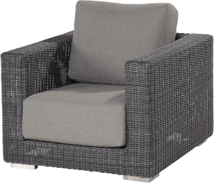 polyrattan-outdoor-sessel «somerset» gartensessel lounge, inkl ... - Outdoor Sessel Polyrattan