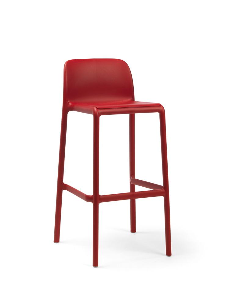 barhocker nardi faro barstuhl rot stapelbar kunststoffhocker gartenm bel fachhandel. Black Bedroom Furniture Sets. Home Design Ideas