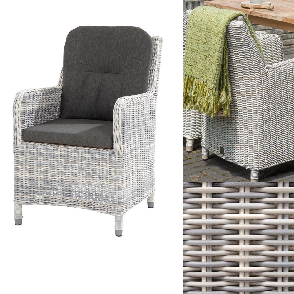 gartenstuhl indigo ice esszimmer stuhl dining sessel geflecht rattan vom garten fachh ndler. Black Bedroom Furniture Sets. Home Design Ideas