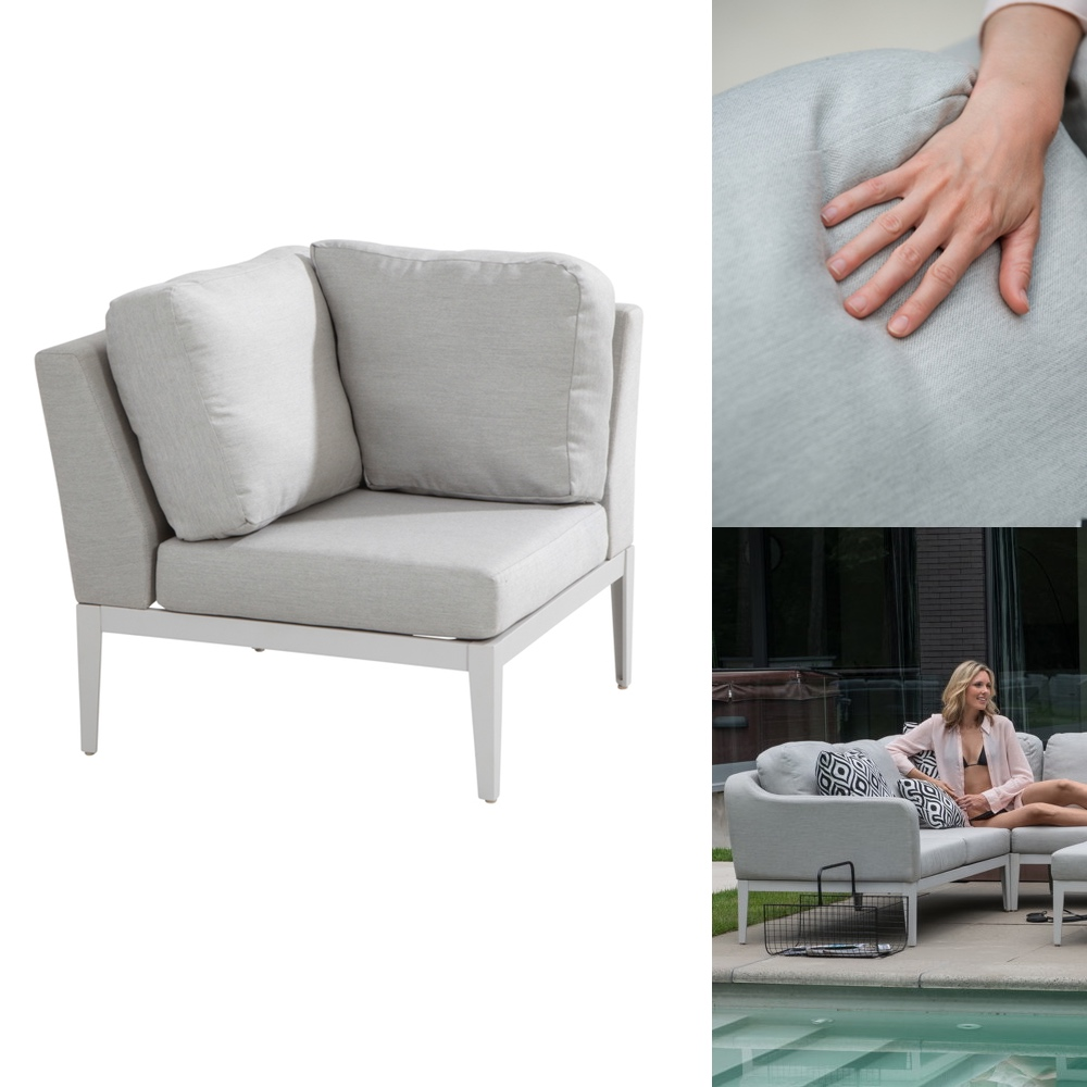 gartenstuhl 4seasons almeria eckelement couchelement aluminium mit sunbrella gartenm bel. Black Bedroom Furniture Sets. Home Design Ideas