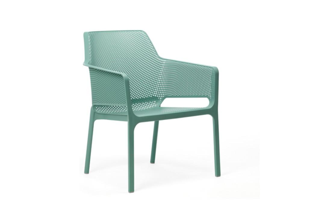 Gartenstühle kunststoff grün  Gartenstuhl NARDI «Net Relax Bistrosessel grün» Stapelsessel ...