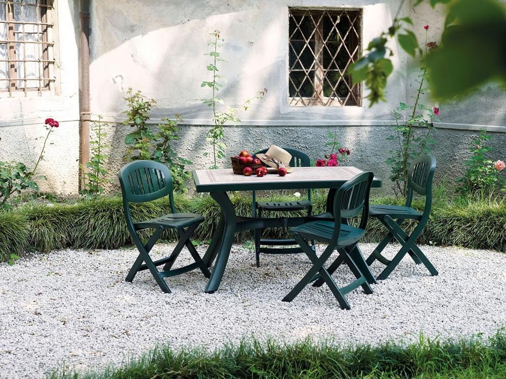 gartenstuhl nardi capri anthrazit klappstuhl. Black Bedroom Furniture Sets. Home Design Ideas