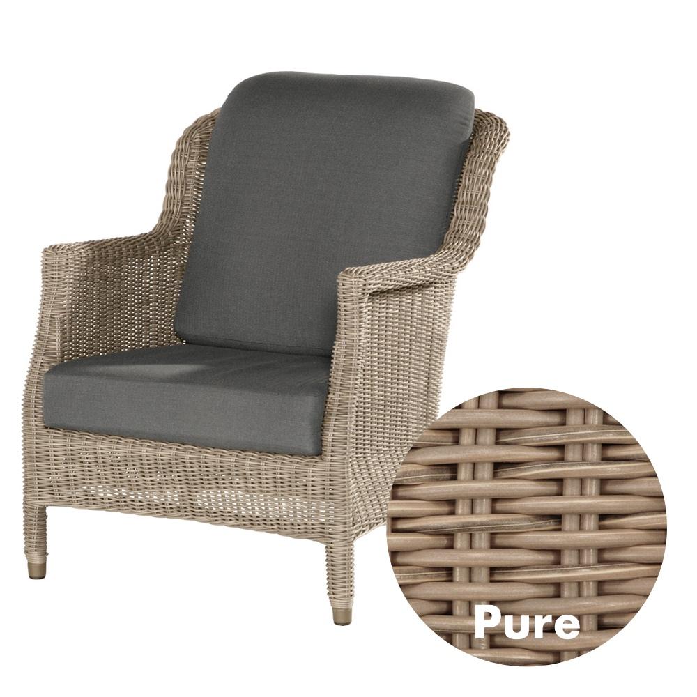 gartenstuhl 4seasons del mar pure sessel lounge sessel korbsessel gartenm bel fachhandel. Black Bedroom Furniture Sets. Home Design Ideas