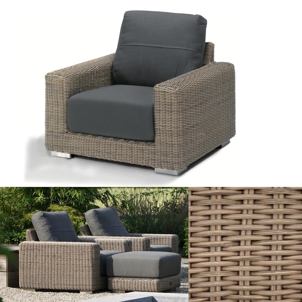 gartenstuhl 4seasons kingston pure loungesessel. Black Bedroom Furniture Sets. Home Design Ideas
