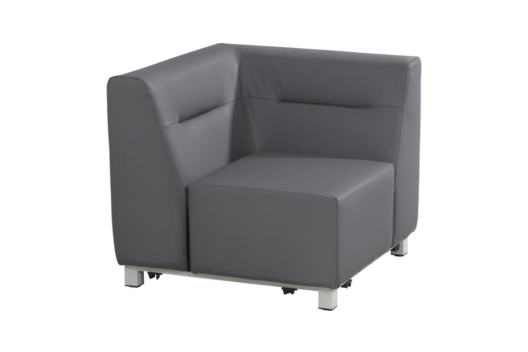 gartenstuhl 4seasons chivas eckement loungemodul textilene silvertex gartenm bel fachhandel. Black Bedroom Furniture Sets. Home Design Ideas