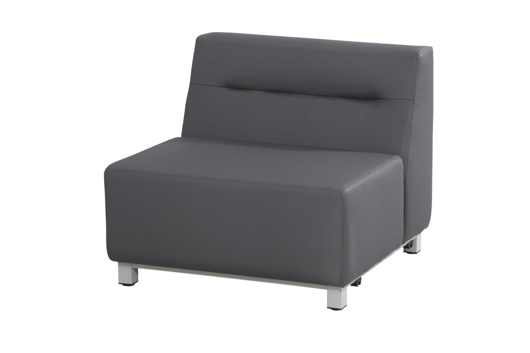 gartenstuhl 4seasons chivas mittelement loungemodul textilene silvertex gartenm bel. Black Bedroom Furniture Sets. Home Design Ideas