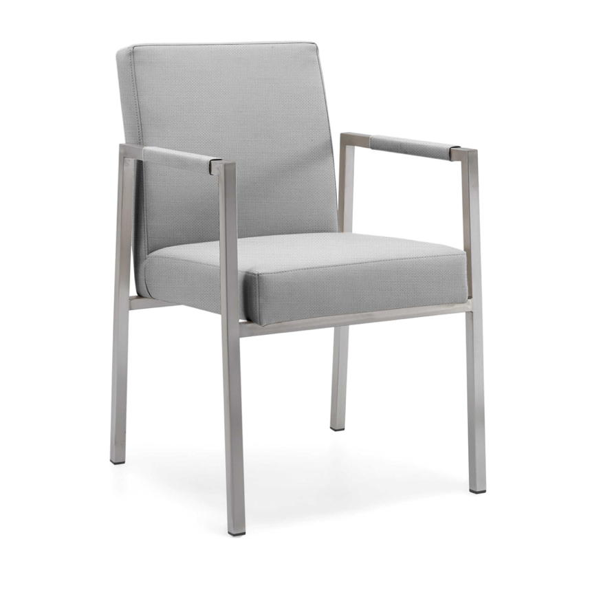 gartenstuhl niehoff ned sessel batyline grau stapelsessel edelstahl gartenm bel fachhandel. Black Bedroom Furniture Sets. Home Design Ideas