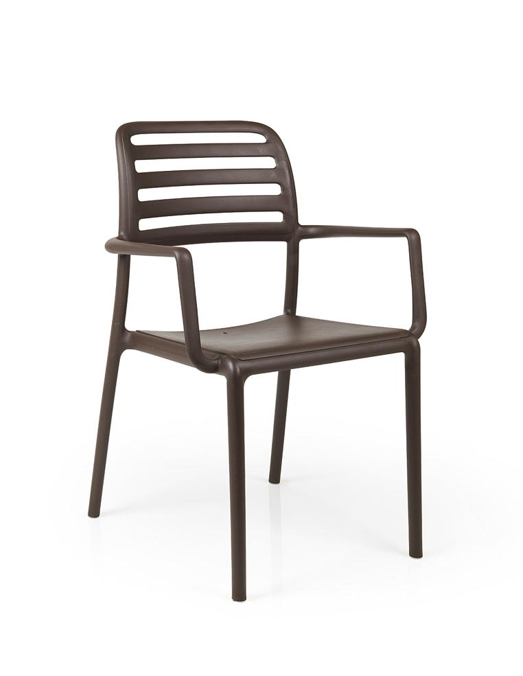 gartenstuhl nardi costa bistro caff stapelsessel kunststoffsessel gartenm bel fachhandel. Black Bedroom Furniture Sets. Home Design Ideas
