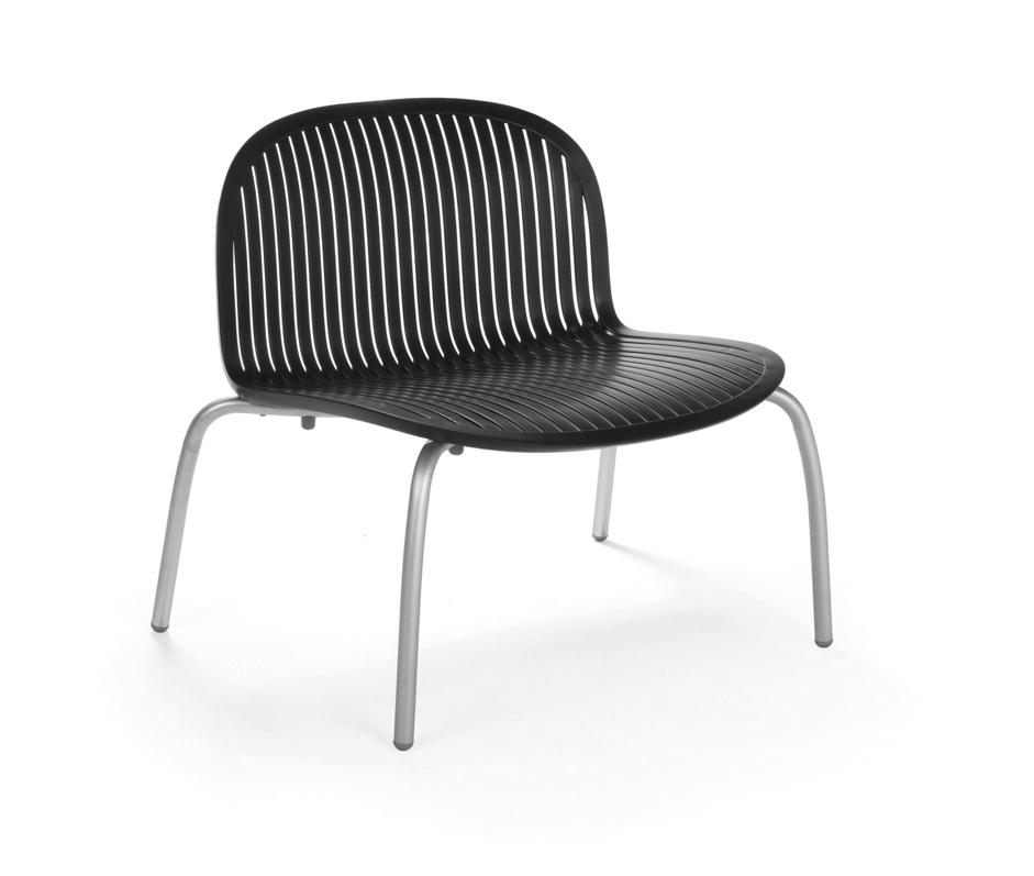 gartenstuhl nardi ninfea relax anthrazit stapelstuhl aluminiumgestell gartenm bel fachhandel. Black Bedroom Furniture Sets. Home Design Ideas