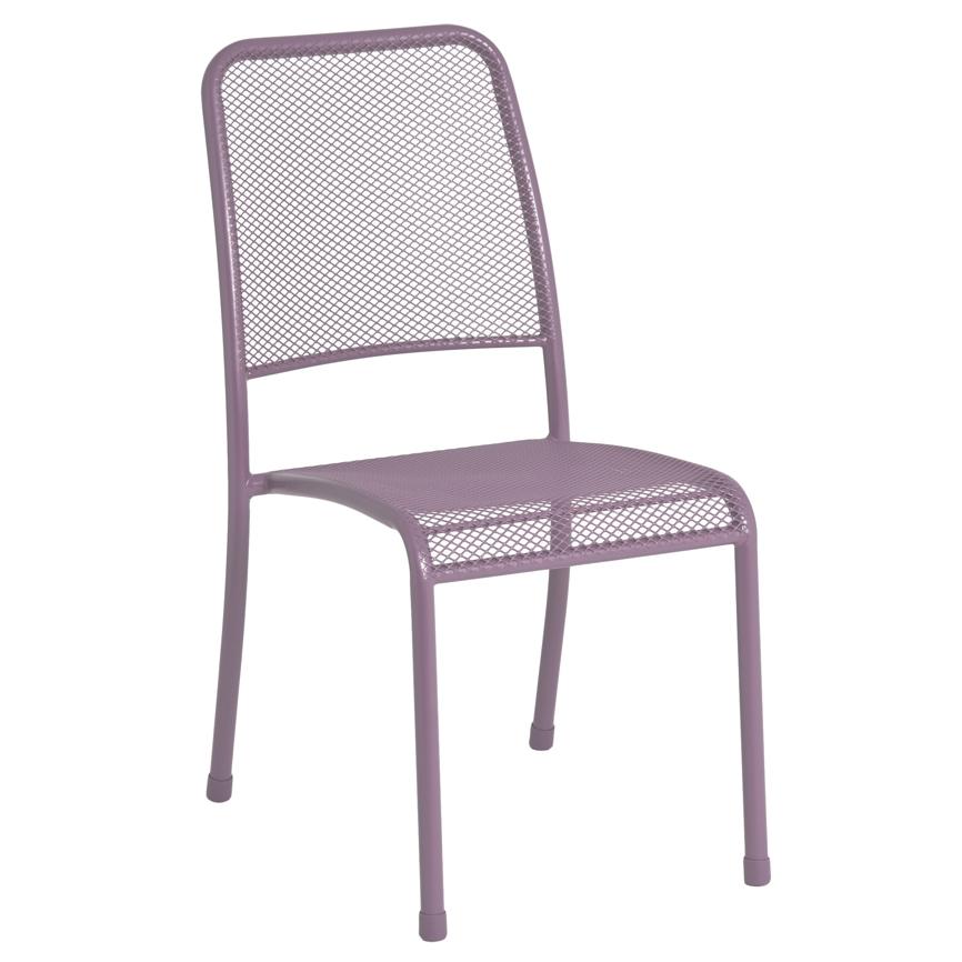 gartenstuhl alexander rose portofino lila stapelstuhl metallstuhl holz angebot. Black Bedroom Furniture Sets. Home Design Ideas