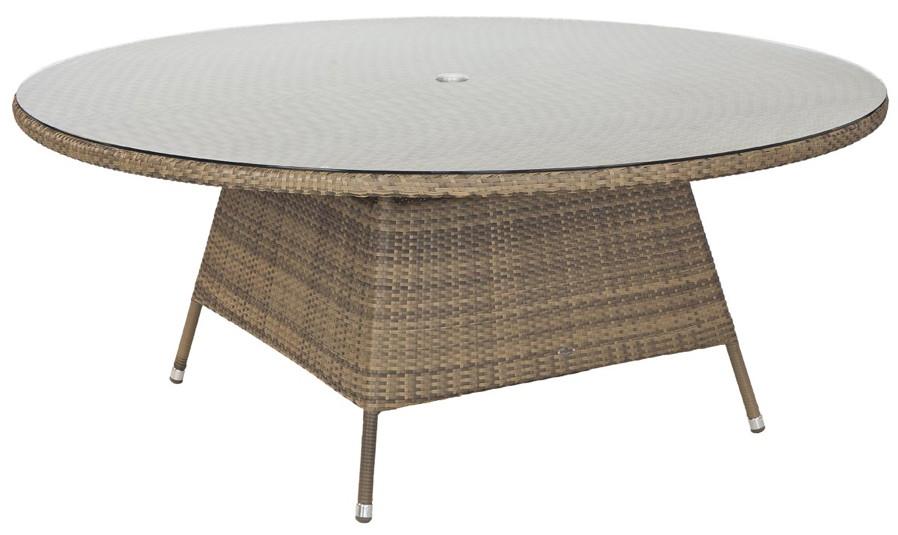 sandy gartentisch arose chichester rund. Black Bedroom Furniture Sets. Home Design Ideas