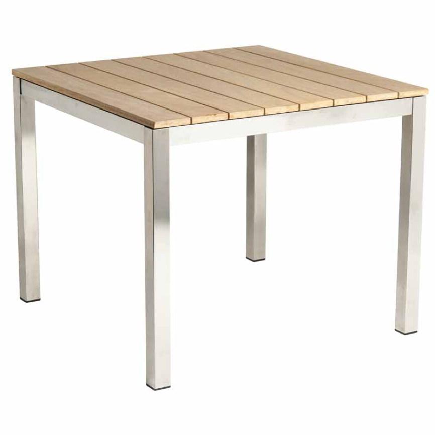 Gartentisch holz  Gartentisch Alexander Rose «COLOGNE 913 Esstisch Holz» 90x90 ...