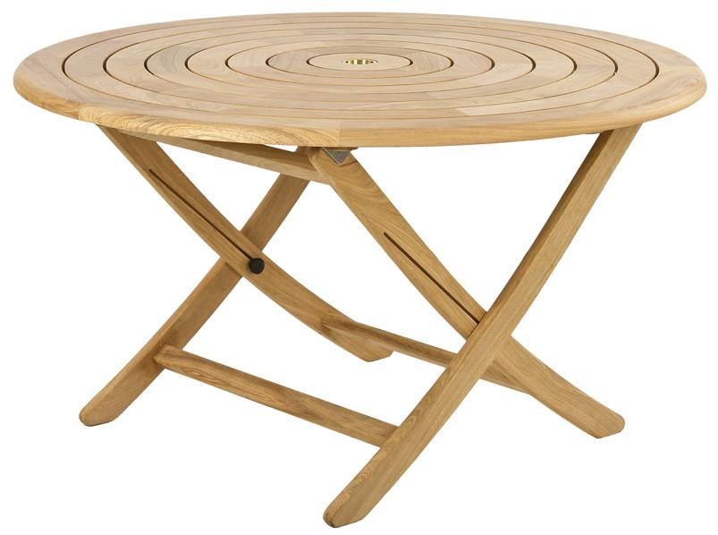 Gartentisch rund holz  Gartentisch Alexander Rose «Roble Bengal Ø130cm» Esstisch, rund ...