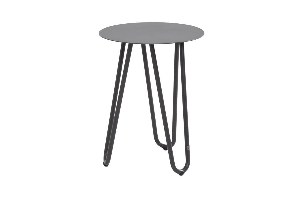AuBergewohnlich Gartentisch 4SEASONS «COOL Couchtisch Rund, Anthrazit» Aluminiumtisch