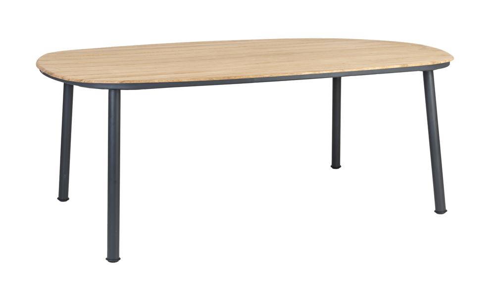 Gartentisch Alexander Rose Cordial Grau Esstisch 200x120cm Holztischplatte Gartenmöbel Fachhandel