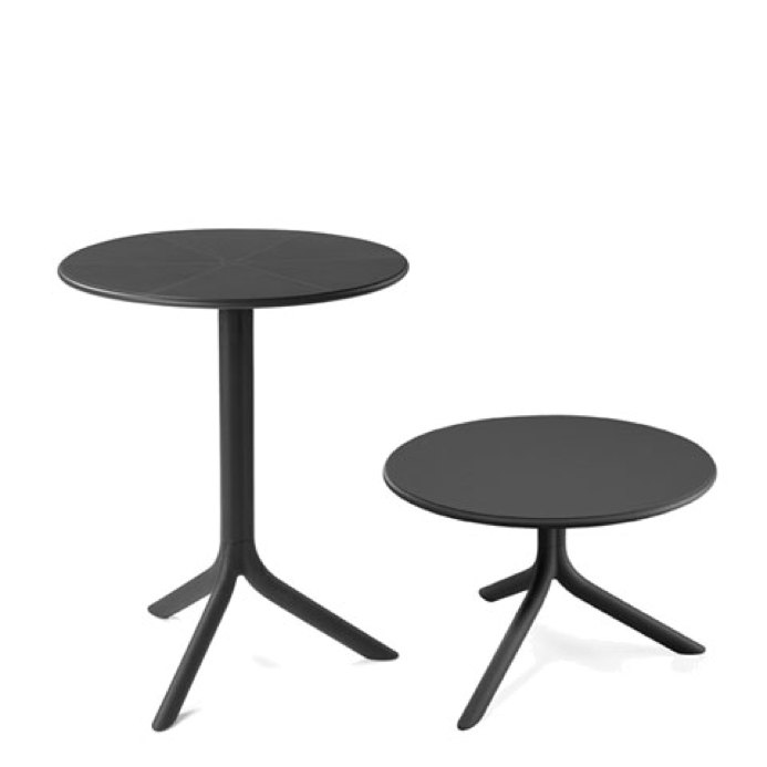 gartentisch nardi spritz 60 5cm anthrazit bistrotisch. Black Bedroom Furniture Sets. Home Design Ideas