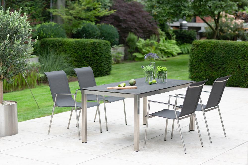 Niehoff Outdoor Küchen : Gartentisch niehoff «tina esstisch cm edelstahltisch