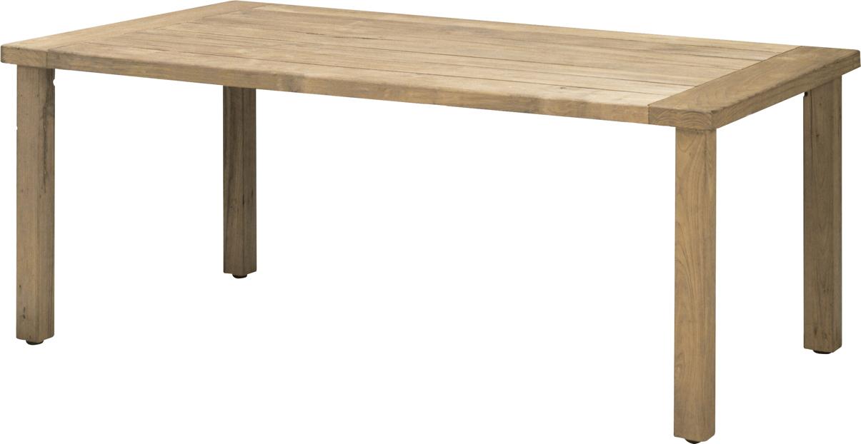 Gartentisch holz  Holz-Gartentisch 4SEASONS «Casa 240x110» Esstisch Teakholz ...