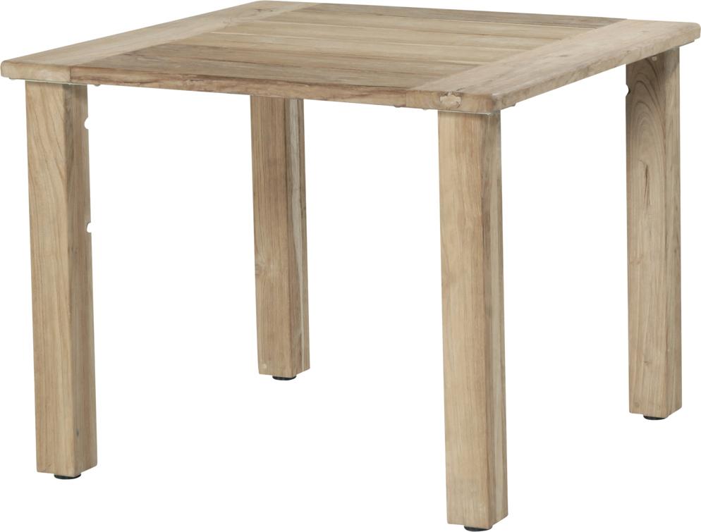 Gartentisch holz  Holz-Gartentisch 4SEASONS «Casa 90x90» Esstisch Teakholz, Holztisch ...
