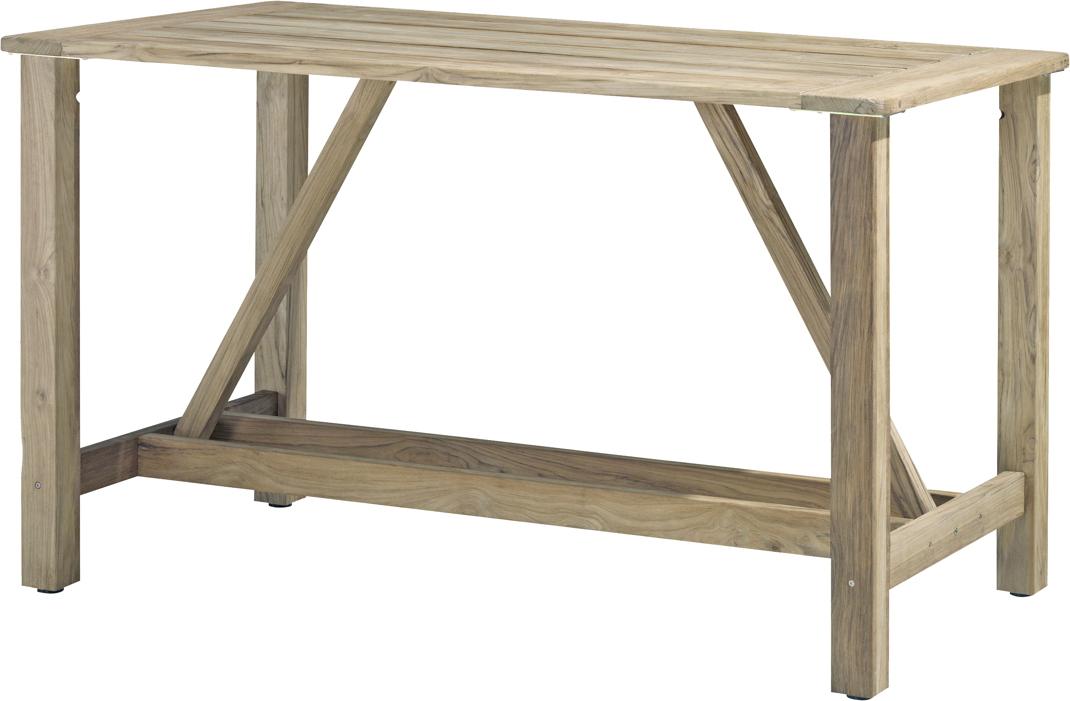 Holz Gartentisch 4seasons Casa 180x92 Bartisch Teakholz Holztisch