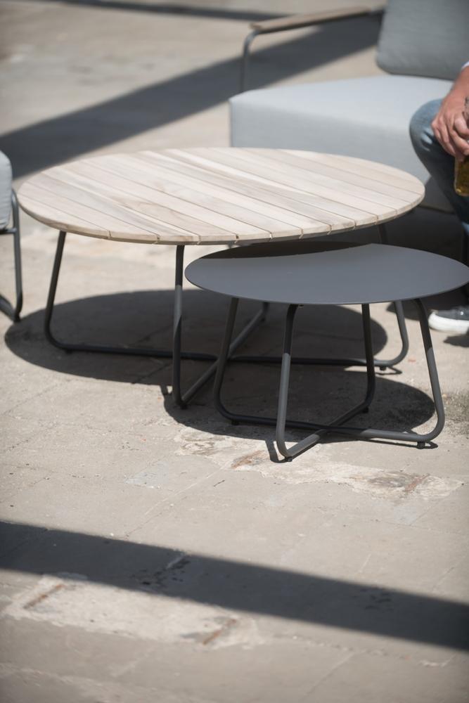Gartentisch 4seasons Axel 73 Cm Couchtisch Rund Holztisch Vom Garten Fachhandler