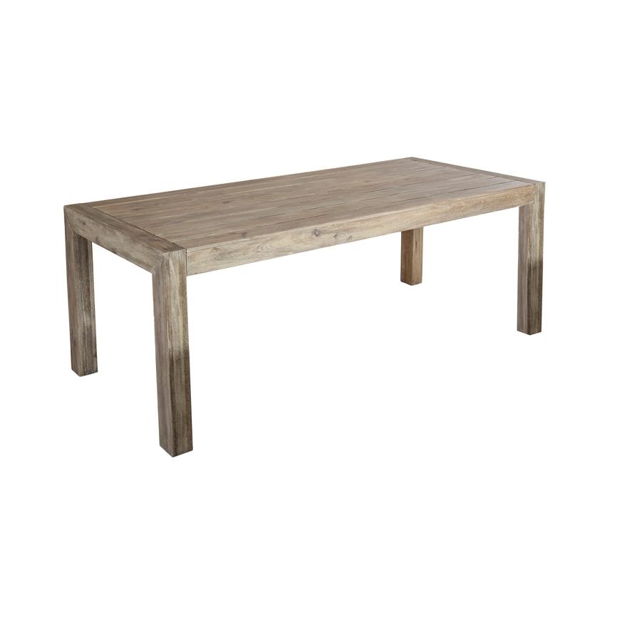Gartentisch Rustikal gartentisch akazie rustikal esstisch 200x92