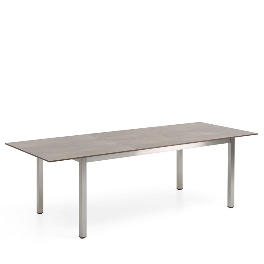 Tisch holz grau holz tisch ausziehbar massiv esstisch - Gartentisch holz grau ...