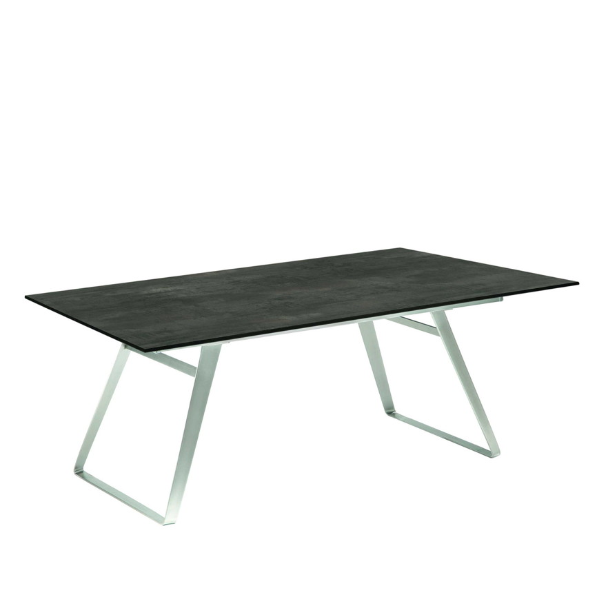 Gartentisch NIEHOFF «Ninon Esstisch 200x95» HPL Granit Design ...