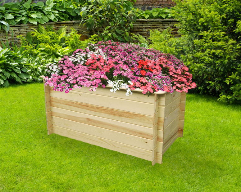 Hochbeet Promadino Hochbeet Holzbeet Kaufen Holz Haus De Garten
