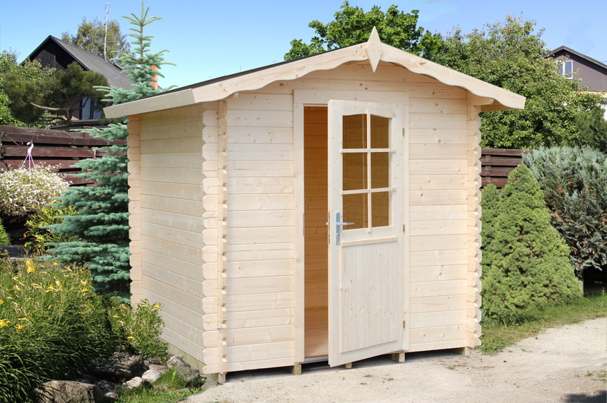 gartenhaus palmako noah holzhaus gartenhaus aus holz g nstig kaufen im shop von holz. Black Bedroom Furniture Sets. Home Design Ideas