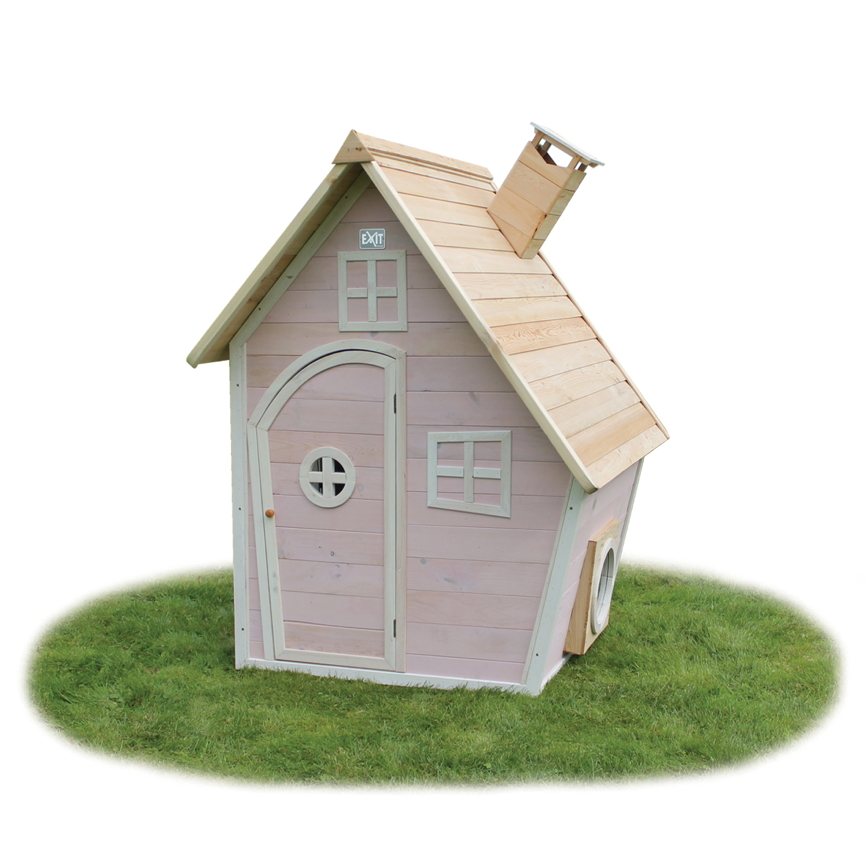 kinder spielhaus holz exit fantasia 300 kinderspielhaus stelzenhaus rotbraun vom spielger te. Black Bedroom Furniture Sets. Home Design Ideas