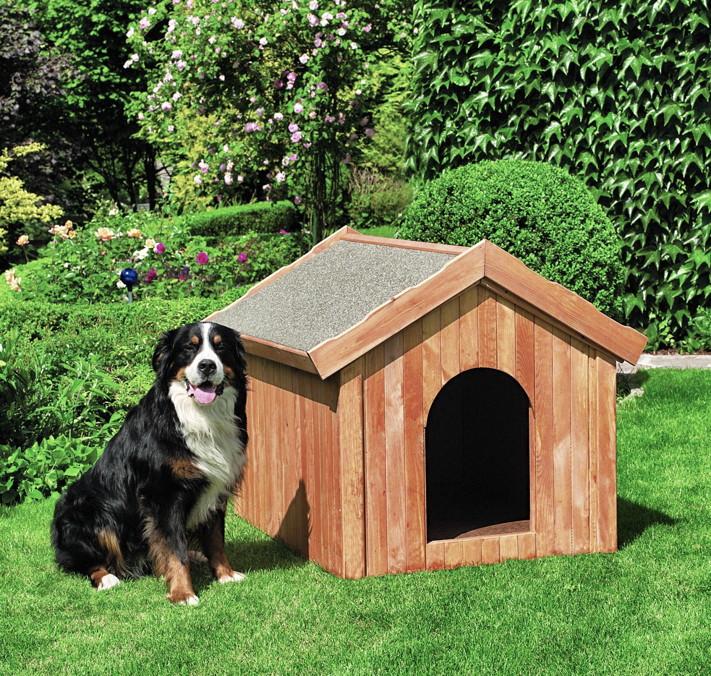 holz hundeh tte promadino hundeh tte hundehaus ged mmt. Black Bedroom Furniture Sets. Home Design Ideas