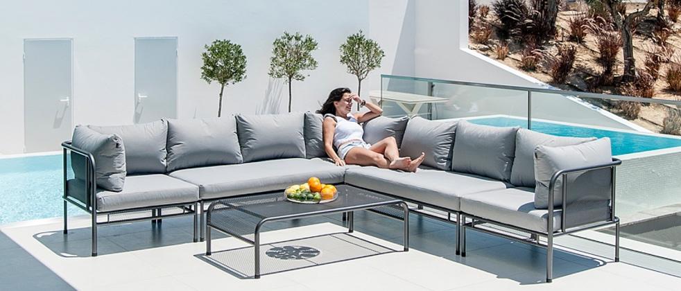 alexander rose gartenm bel serie portofino. Black Bedroom Furniture Sets. Home Design Ideas