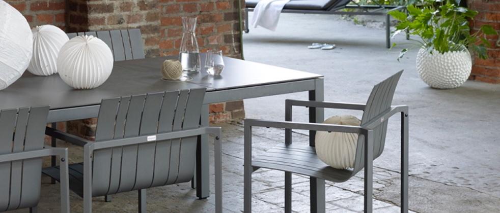 solpuri gartentisch serie classic aluminium. Black Bedroom Furniture Sets. Home Design Ideas