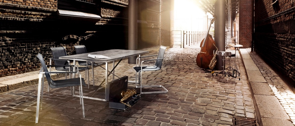 solpuri gartenm bel serie jazz. Black Bedroom Furniture Sets. Home Design Ideas