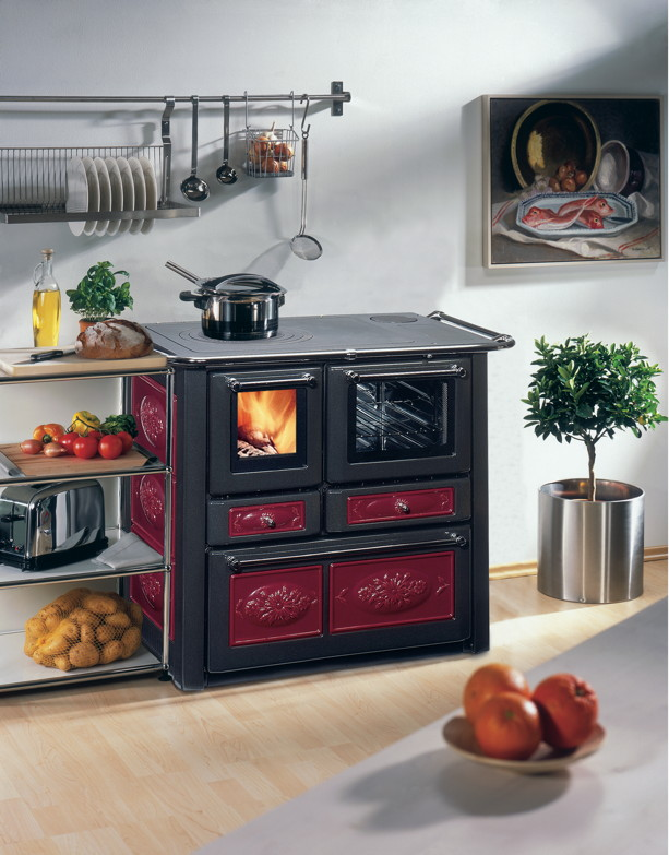 Küchen-Ofen WAMSLER «Voll-Herd Westminster K185» Holzofen ...