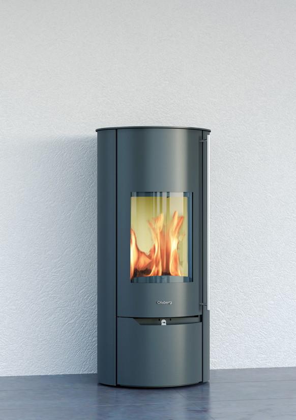 Design-Kamin-Ofen OLSBERG Tolima Aqua Compact wasserf�hrender Standkamin