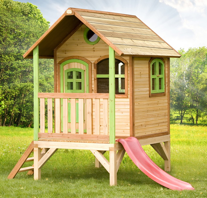 Spielhaus Kinderhaus Stelzenhaus Teilw Mit Rutsche Sandkasten Uvm