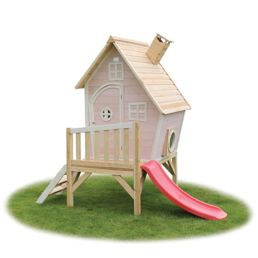 exit spielhaus, kinderhaus, stelzenhaus - teilw. mit rutsche, Schlafzimmer design