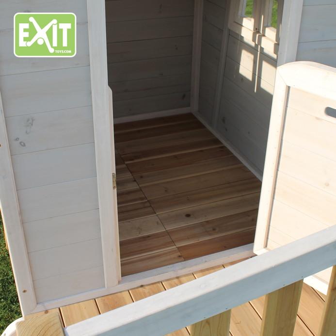 kinder-spielhaus exit «beach 300» kinderspielhaus stelzenhaus holz, Moderne