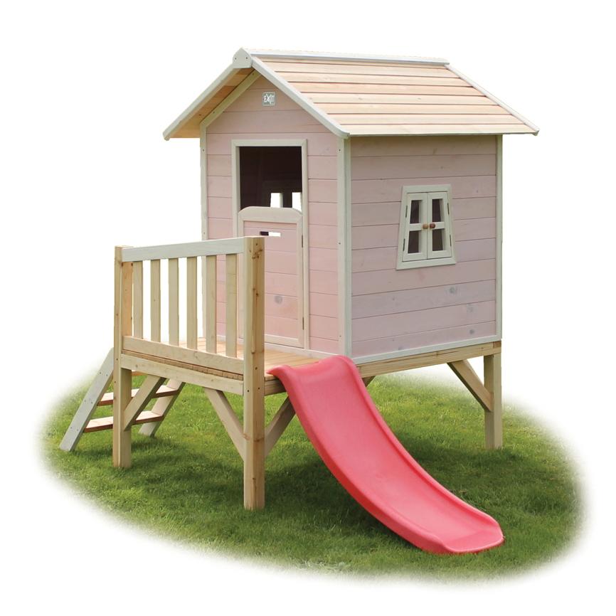 kinder spielhaus holz exit fantasia 300 kinderspielhaus. Black Bedroom Furniture Sets. Home Design Ideas