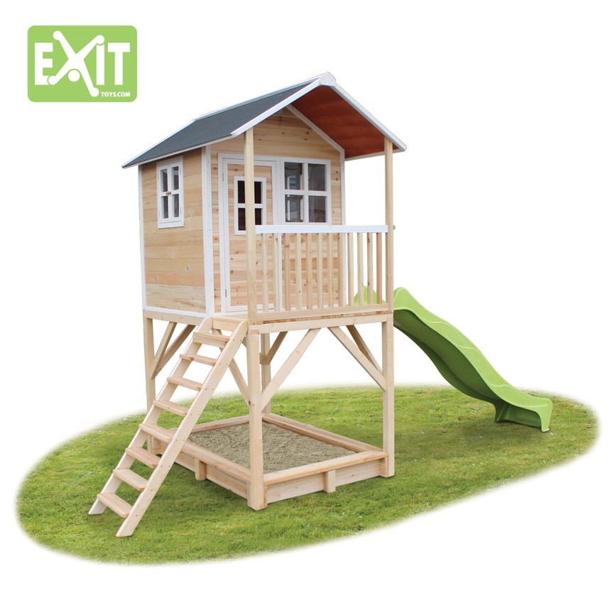 kinder spielhaus exit loft 700 kinderspielhaus. Black Bedroom Furniture Sets. Home Design Ideas