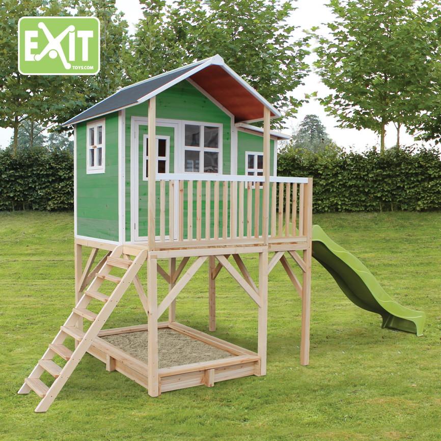 kinder spielhaus exit loft 750 kinderspielhaus. Black Bedroom Furniture Sets. Home Design Ideas
