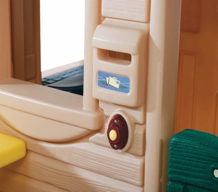 kinder spielhaus step 2 traumhaus kinderhaus kunststoff. Black Bedroom Furniture Sets. Home Design Ideas