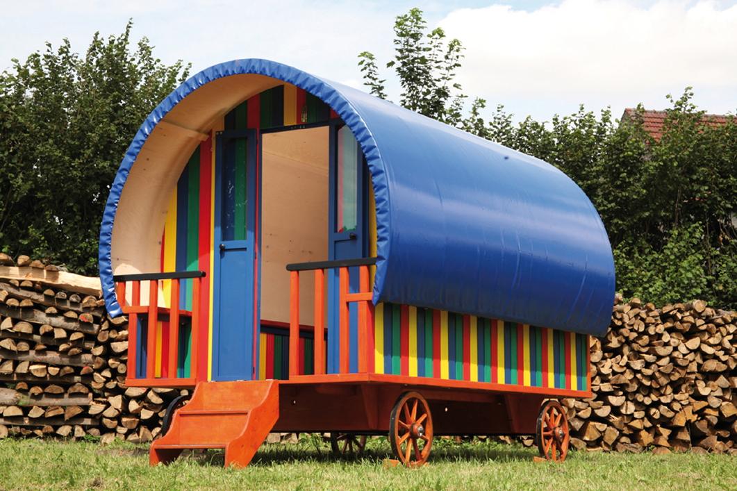 kinder spielhaus wolff kinder planwagen campingwagen. Black Bedroom Furniture Sets. Home Design Ideas