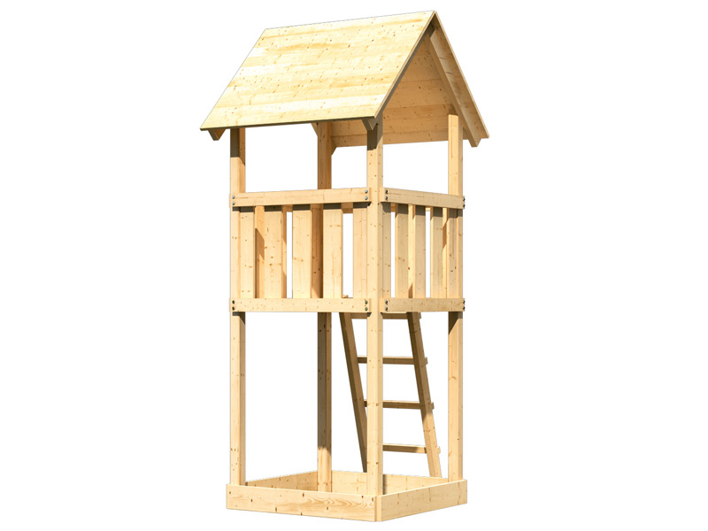 kinderspielhaus holz lagerhaus. Black Bedroom Furniture Sets. Home Design Ideas