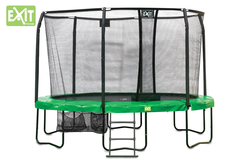 Kinder-Trampolin EXIT JumpArenA - All-in 1 oval Trampolin