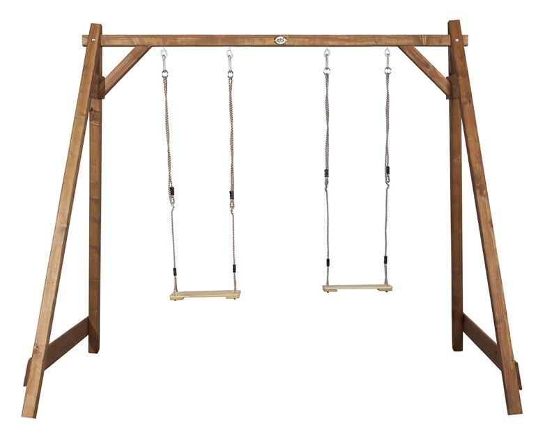 Holz-Kinder-Schaukel Axi Doppelschaukel Schaukel aus Holz